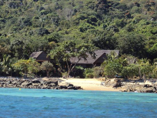 Coco Komba Eco Lodge Madagascar: Arrivée en bateau sur Nosy KOMBA