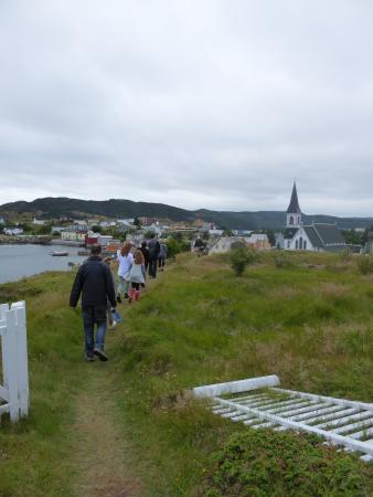 Trinity Historical Walking Tours: A stroll up a gentle hill overlooking the town