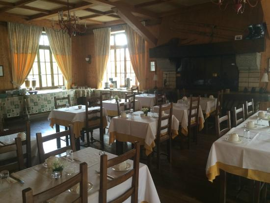 Hotel Chalet d'Antoine: restaurant