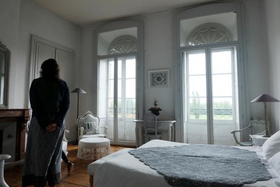 La Rotonde : la chambre sur la Charente