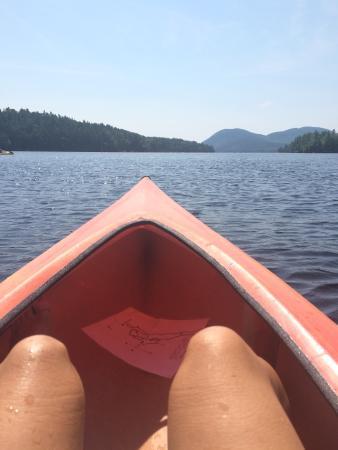 National Park Canoe and Kayak Rental: Relaxing coming back.