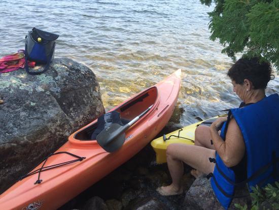 National Park Canoe and Kayak Rental: Kayaking on Long Pond
