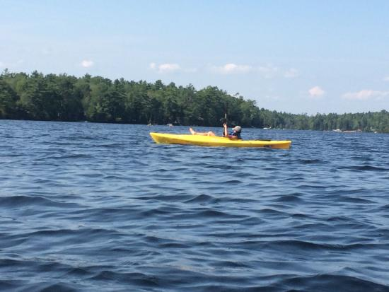 National Park Canoe and Kayak Rental: Great day...