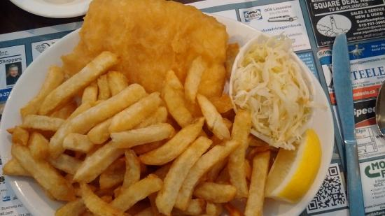 Lord Elgin Fish & Chips : dinner