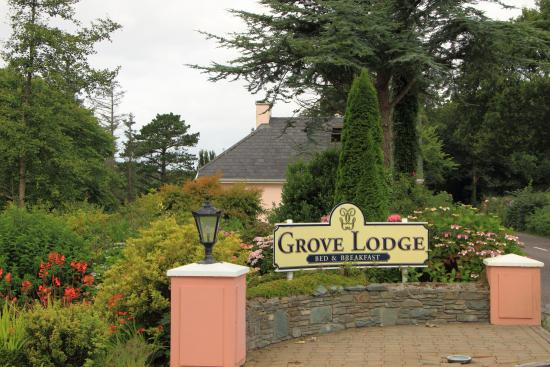 Grove Lodge Riverside Guest House : Entrance to Grove Lodge