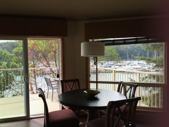 WorldMark Deer Harbor: Dining area