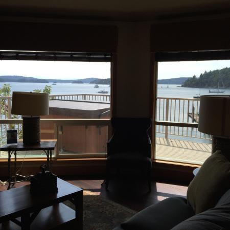 WorldMark Deer Harbor: Living room