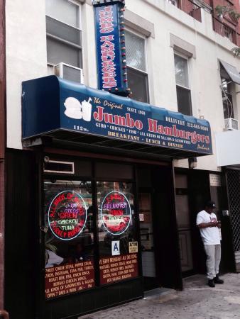 Jumbo Hamburgers