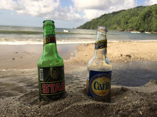 Mt Plaisir Estate Hotel : Relaxing in the sand