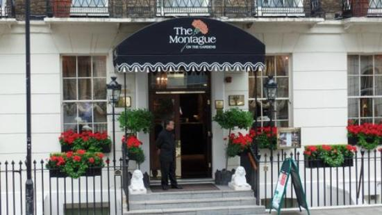 Room 110 Picture Of The Montague On The Gardens London Tripadvisor