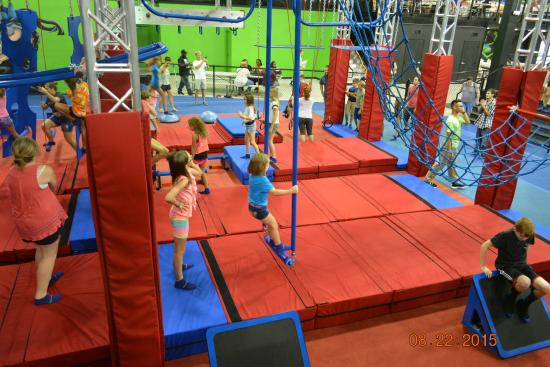 Ninja Warrior Course Picture Of Velocity Air Sports North