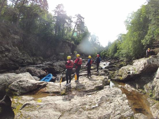 ACE Adventure: RAFTING ON THE RIVER FINDHORN