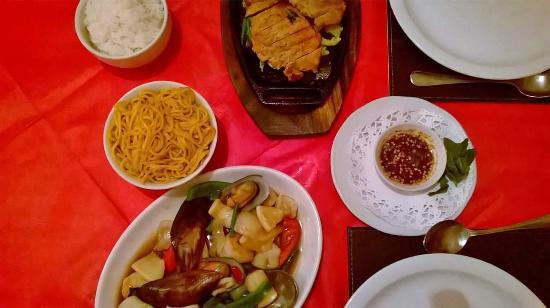 Thai Manor Restaurant: delicious main