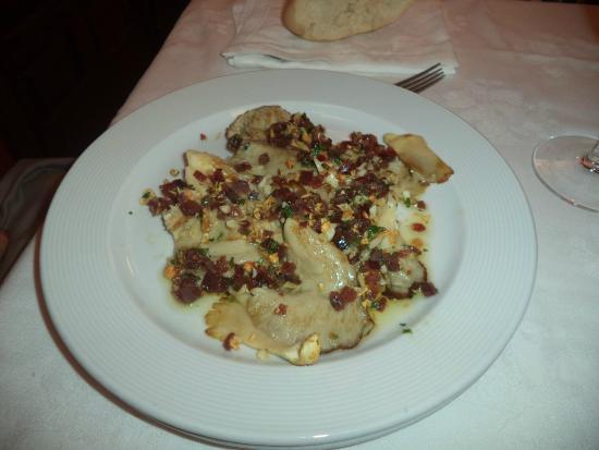 Restaurante Meson La Vina: setas a la plancha con jamon