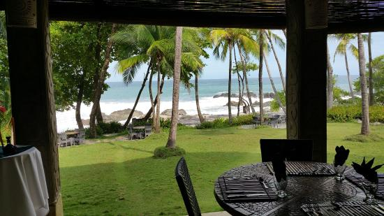 Ylang Ylang Restaurant: View from the restaurant.