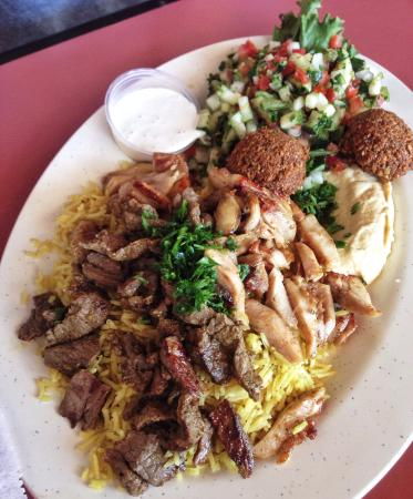 Ameer's Mediterranean Grill: Chicken & Lamb Schwarma