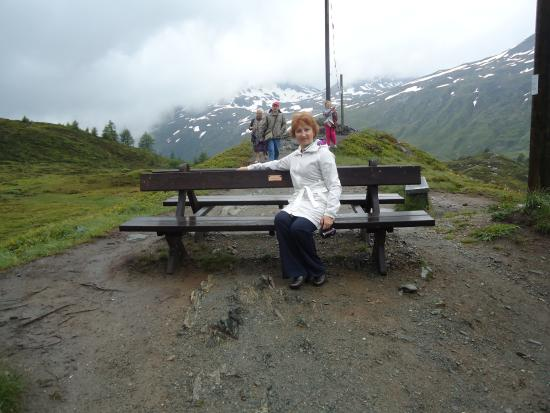 Brig, İsviçre: Смотровая площадка
