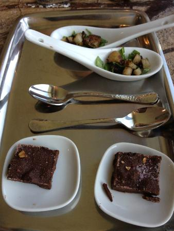 The Edgewater Inn: Delicious amuse bouche
