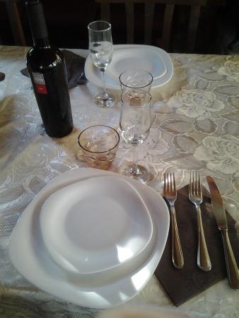 Punto di Ristoro Nuraghe Majori: Buon appetito