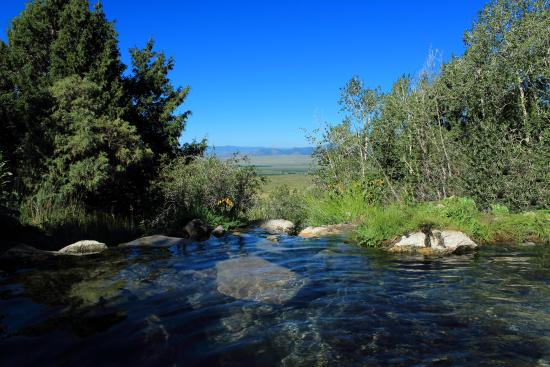 Moffat, CO: View from the Waterfall Pool
