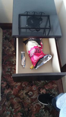 Swallow Bed & Breakfast: Voici ce que nous avons trouvé à notre arrivé dans une des chambres de ce B&B.
