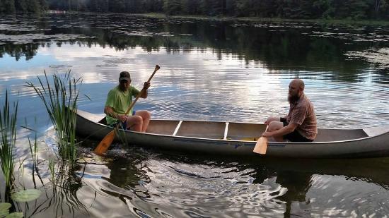 Half Moon State Park : canoeing
