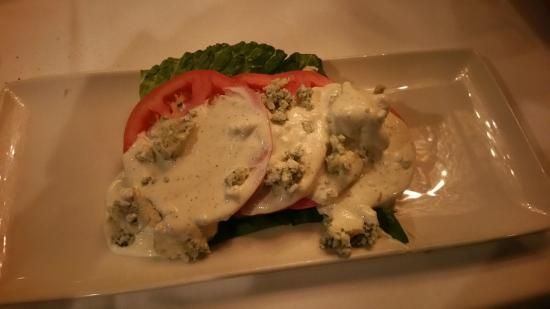 Morton's - The Steakhouse: Beefsteak Tomato Salad with Blue Cheese
