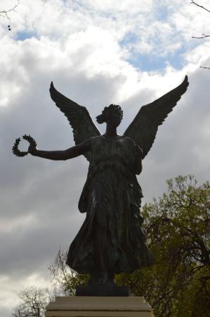 Victoria Gardens: Winged angel
