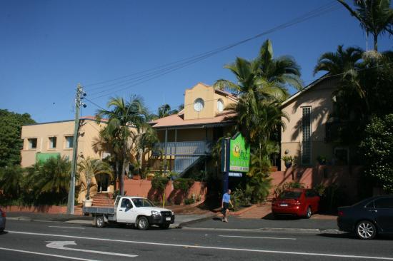 City Palms Motel: Motel Exterior