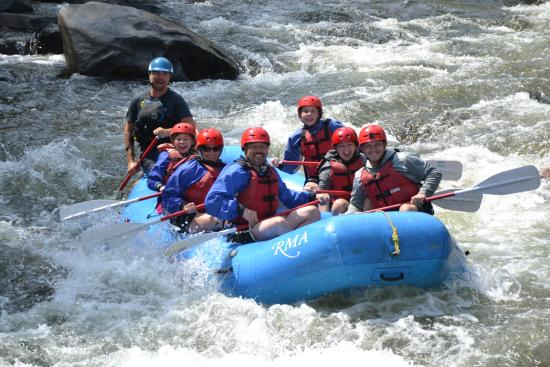 Rocky Mountain Adventures Rafting The Poudre River