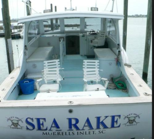 Picture of crazy sister marina murrells for Deep sea fishing murrells inlet sc