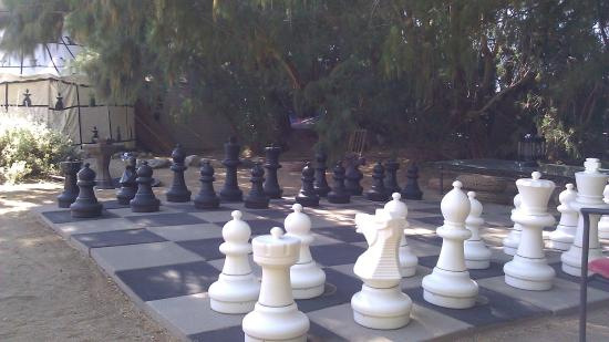 El Morocco Inn & Day Spa: Chess Anyone?