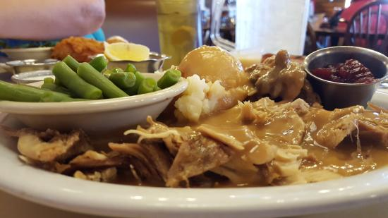 Stagecoach Restaurant: Turkey Dinner