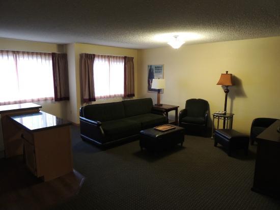 Blanchard, Idaho: Living Room