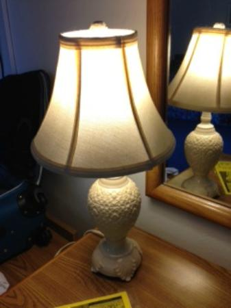 New Paris, OH: vintage lamps
