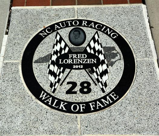NC Auto Racing Walk of Fame