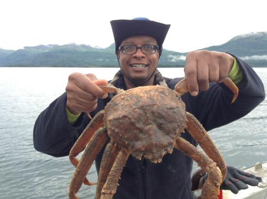 Kodiak National Wildlife Refuge, AK: Crab dinner