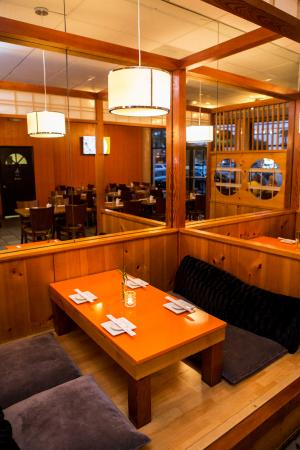 Miyako D Anese Restaurant Traditional Tatami Style Booth