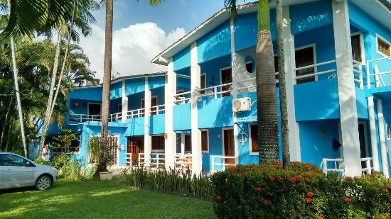 Pousada Morada Azul: Vista externa