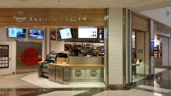 Food Network Kitchen: Airport Gate Location.