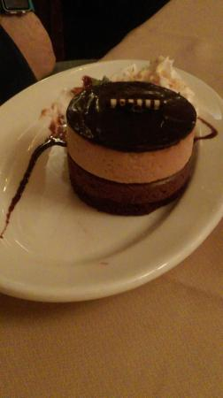 Lake Katrine, estado de Nueva York: Peanut butter mousse