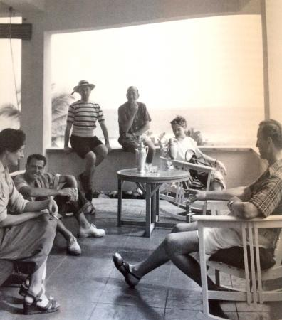 Noel Coward's Blue Harbour: Rothmere, Payn, Cecil Beaton, Sir Noel, Natasha and IAN FLEMMING!