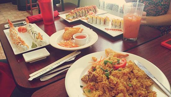 Thai Island Rice Picture Of Thai Island Restaurant Sushi Bar