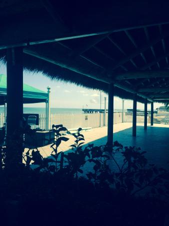 Cabana Breezes: Looking out at beautiful view