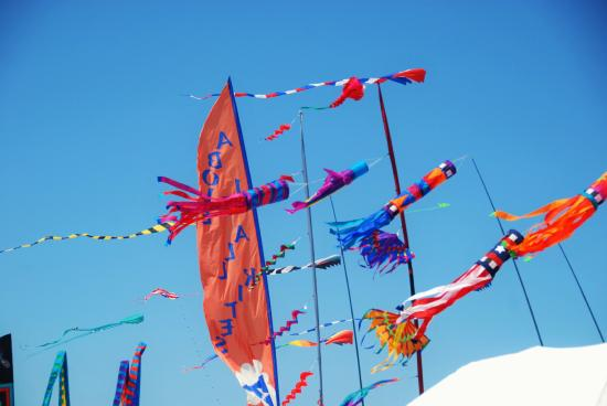 China Beach Retreat : Kite Competition in Long Beach