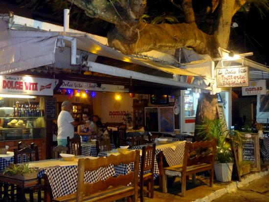 Frente Do Restaurante Picture Of La Dolce Vita Pizza E