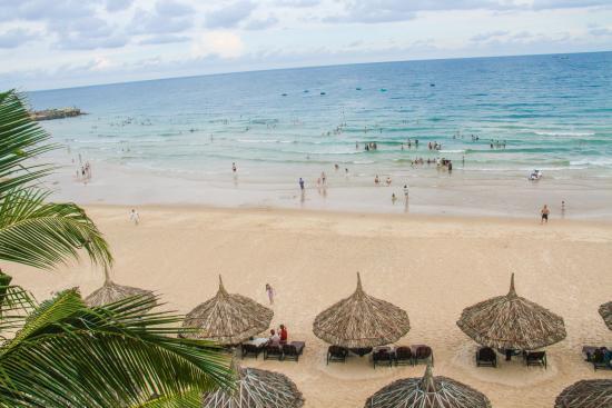 Sea Links Beach Villas: Private beach