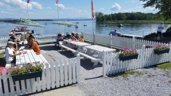 Hero's Welcome: Lake View Seating