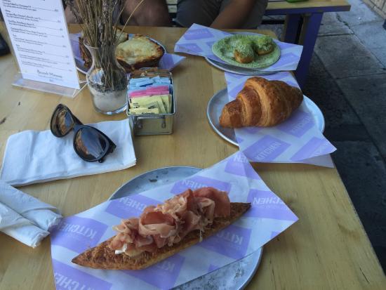 dominique ansel kitchen prosciutto croissant beignets and croque monsieur - Dominique Ansel Kitchen