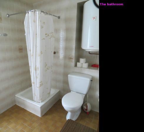 Auberge Mont-Blanc Trient : Bathroom